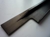 Ручка врезная (торцевая) L.596 мм