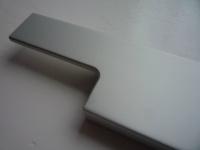 Ручка врезная (торцевая) L.146 мм